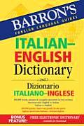 Barrons Italian English Dictionary Dizionario Italiano Inglese