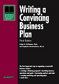 Writing A Convincing Business Plan 3rd Edition