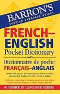Barron's French-English Pocket Bilingual Dictionary Cover