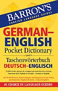Barrons German English Pocket Bilingual Dictionary