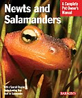 Newts and Salamanders: Everything about Selection, Care, Nutrition, Diseases, Breeding, and Behavior (Barron's Complete Pet Owner's Manuals)