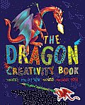 Dragon Creativity Book Includes Stickers Fold Out Scene Stencils & Patterned Paper