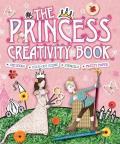 Princess Creativity Book Includes Stickers Fold Out Scene Stencils & Pretty Paper