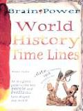 World History Time Lines (Brain Power)