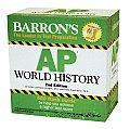 Barrons AP World History Flash Cards