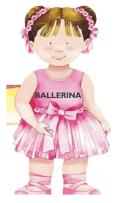 Ballerina (Mini People Shape Books) Cover