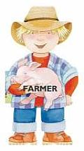 Farmer (Mini People Shape Books) Cover