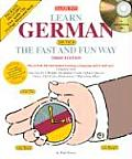 Learn German the Fast and Fun Way with Compact Discs with Book (Fast and Fun Way)