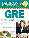 Barrons GRE Graduate Record Examination With CDROM