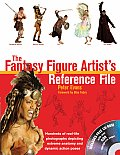 Fantasy Figure Artists Reference File Hundreds of Real Life Photographs Depicting Extreme Anatomy & Dynamic Action Poses With CDROM