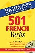 501 French Verbs: With CD-ROM (501 Verbs) Cover