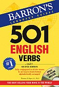 501 English Verbs with CDROM (501 Verbs) Cover