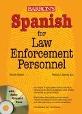 Spanish for Law Enforcement Personnel with CDROM
