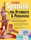 Spanish for Attorneys & Paralegals with Audio CDs