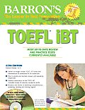 Barron's TOEFL Ibt and 2 Audio CDs [With CDROM] (Barron's TOEFL IBT)