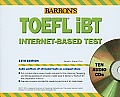 Barron's TOEFL iBT Internet-Based Test Cover
