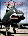 Americas Army & Air Force Airplanes Post World War I to the Present