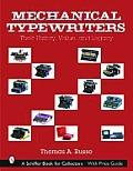 Mechanical Typewriters: Their...