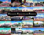 Classic American Diners Collectible Postcards & Matchcovers