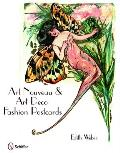 Art Nouveau and Art Deco Fashion Postcards (09 Edition) Cover