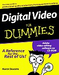 Digital Video For Dummies 1st Edition