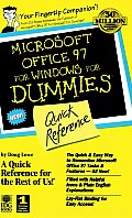 Microsoft Office 97 for Windows for Dummies: Quick Reference (For Dummies: Quick Reference)