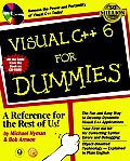 Visual C++ 6 for Dummies with CDROM Cover