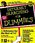 Internet Searching for Dummies with CDROM