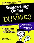 Researching Online for Dummies with CDROM (For Dummies)