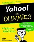 Yahoo For Dummies 1st Edition