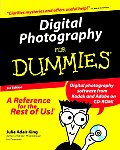 Digital Photography for Dummies 3RD Edition