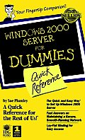 Microsoft Windows 2000 Server for Dummies: Quick Reference