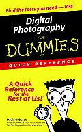 Digital Photography for Dummies(r): Quick Reference (For Dummies: Quick Reference) Cover