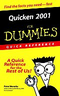 Quicken. 2001 for Dummies. Quick Reference (For Dummies: Quick Reference)