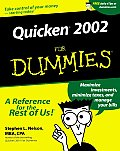 Quicken. 2002 for Dummies. (For Dummies)