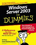 Windows Server 2003 for Dummies (For Dummies)
