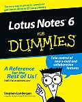 Lotus Notes R6 for Dummies (For Dummies)