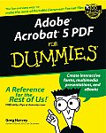 Adobe Acrobat 5 PDF for Dummies (For Dummies) Cover