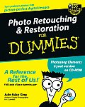 Photo Retouching & Restoration for Dummies with CDROM (For Dummies)