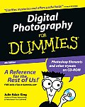 Digital Photography for Dummies with CDROM (For Dummies)