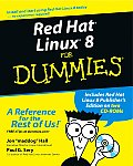 Red Hat Linux 8 for Dummies with CDROM Cover
