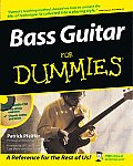 Bass Guitar for Dummies with CD (Audio) (For Dummies) Cover