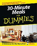 30-Minute Meals for Dummies (For Dummies) Cover