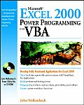 Microsoft Excel 2000 Power Programming with VBA [With CDROM]
