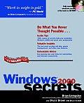 Microsoft Windows 2000 Secrets with CDROM (... Secrets)