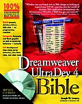 Dreamweaver Ultradev 4 Bible with CDROM