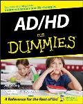 Ad/Hd for Dummies Cover