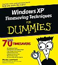 Windows XP Timesaving Techniques for Dummies (For Dummies)