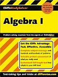 Algebra I (Cliffs Study Solver)