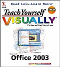 Teach Yourself Visually Office 2003 (Teach Yourself Visually) Cover